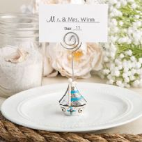 Nautical Sail Boat Themed Place Card Holder